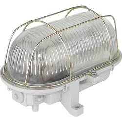 Osvetlenie vlhkých priestorov E27 7 W N/A REV Ovalleuchte Kunstst.LED 7W gr sivá