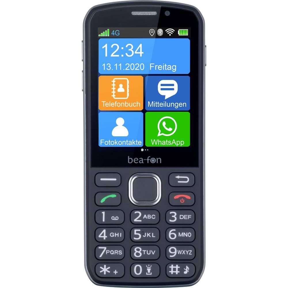 BEA FON SL860touch Senioren mobiele telefoon SOS-knop Zwart