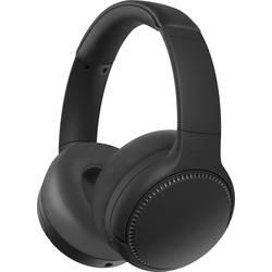 Bluetooth, káblové Hi-Fi slúchadlá Over Ear Panasonic RB-M500BE-K RB-M500BE-K, čierna
