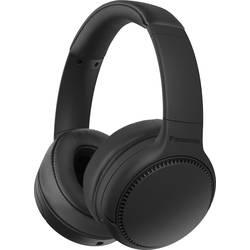 Bluetooth, káblové Hi-Fi slúchadlá Over Ear Panasonic RB-M300BE-K RB-M300BE-K, čierna