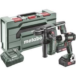 Aku vŕtačka, aku vŕtací skrutkovač Metabo BS 18 LT BL + BH 18 LTX BL 16 685182000, 18 V, 2.0 Ah, 4.0 Ah, Li-Ion akumulátor