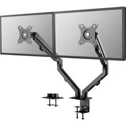 """Stolový držiak monitoru Neomounts by Newstar FPMA-D650DBLACK, sklápajúci, nakláňací, otočný, výškovo nastaviteľný, 43,2 cm (17"""") - 68,6 cm (27"""")"""