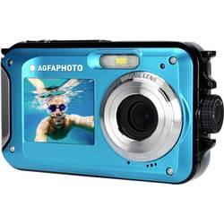 Image of AgfaPhoto Realishot WP8000 Digitalkamera 24 Megapixel Blau inkl. Akku, inkl. Tasche Unterwasserkamera, Wasserdicht bis 3