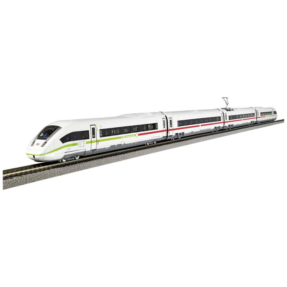 """PIKO 51404 H0 elektrische treinstel BR 412 ICE 4 """"klimaatbeschermers"""" van de DB AG 4-delig."""