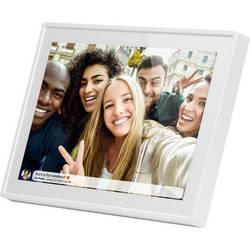 Image of Braun Phototechnik DigiFrame 1019 WiFi weiss Digitaler Bilderrahmen 25.7 cm 10.1 Zoll 1280 x 800 Pixel 16 GB Weiß