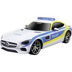 RC model auta záchranný voz MaistoTech Mercedes AMG GT Polizei 581510, 1:24