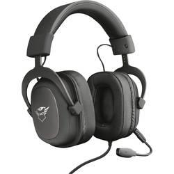 Trust GXT414 Zamak Premium herný headset jack 3,5 mm stereo, káblový cez uši čierna