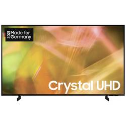 Samsung GU65AU8079 LED TV 163 cm 65 palca DVB-T2 HD, DVB-C, DVB-S, UHD, Smart TV, WLAN, CI+ čierna