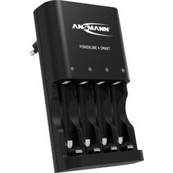 Nabíjačka na okrúhle akumulátory Ansmann Powerline 4 Smart