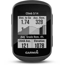 Outdoorová navigácia kolo Garmin Edge® 130 Plus Bluetooth®, GLONASS, GPS, chránené proti striekajúcej vode