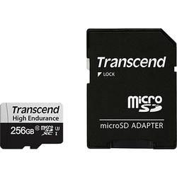 Pamäťová karta micro SDXC, 256 GB, Transcend 350V, Class 10, UHS-I