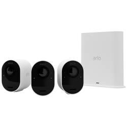 Image of ARLO ARLO GEN5 WIRE-FREE 3-CAM KIT 3-MONTH SMART V2 VMS5340-200EUS Kabellos, WLAN IP-Überwachungskamera-Set 3840 x 2160