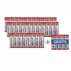 Tužková batéria typu AA alkalicko-mangánová Arcas LR03, 1.5 V, 36 ks