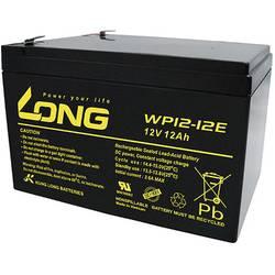Olovený akumulátor Long WP12-12E WP12-12E, 12 Ah, 12 V