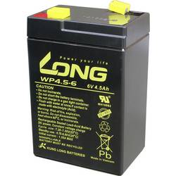 Olovený akumulátor Long WP4.5-6 WP4.5-6, 4.5 Ah, 6 V