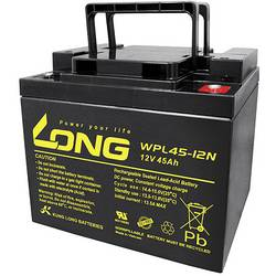 Olovený akumulátor Long WPL45-12 WPL45-12, 45 Ah, 12 V