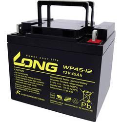 Olovený akumulátor Long WP45-12 WP45-12, 45 Ah, 12 V
