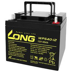 Olovený akumulátor Long WPS40-12 WPS40-12, 40 Ah, 12 V