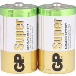 GP Batteries Super GP13A / LR20 batéria typu D alkalicko-mangánová 1.5 V 2 ks