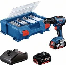 Aku príklepová vŕtačka Bosch Professional GSB 18V-55 06019H530A, 18 V, 4.0 Ah, Li-Ion akumulátor