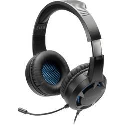 SpeedLink CASAD herný headset jack 3,5 mm káblový cez uši čierna