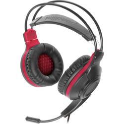 SpeedLink CELSOR herný headset jack 3,5 mm káblový cez uši čierna/červená
