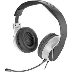 SpeedLink HADOW herný headset jack 3,5 mm káblový cez uši čierna/biela