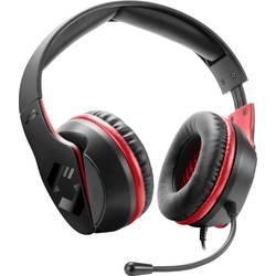 SpeedLink HADOW herný headset 2x 3,5 mm jack (mic./slu.) káblový cez uši čierna