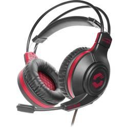 SpeedLink CELSOR herný headset 2x 3,5 mm jack (mic./slu.) káblový cez uši čierna/červená