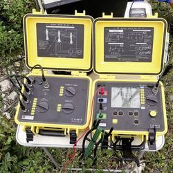 Tester uzemnenia Chauvin Arnoux C.A 6472 + C.A 6474 P01299930, Kalibrované podľa bez certifikátu