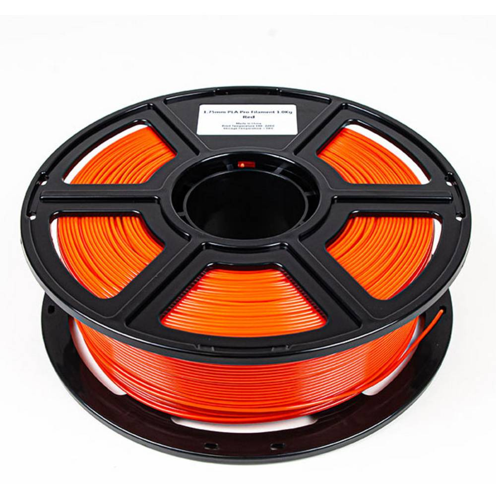 Maertz 8006 Budget PLA Pro RT 1,75 mm 1 KG 3D-skrivare Filament PLA-plast 1.75 mm 1000 g Röd 1000 g