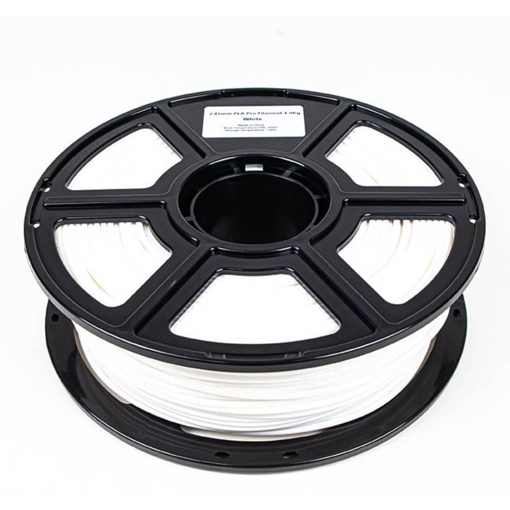 Maertz 8010 Budget PLA Pro Weiß 2,85 mm 1 KG 3D-skrivare Filament PLA-plast 2.85 mm 1000 g Vit 1000 g