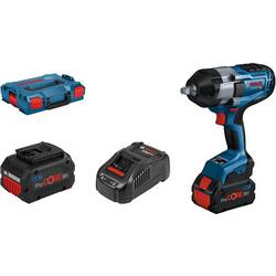 Aku rázový skrutkovač a uťahovák Bosch Professional GDS 18V-1000 06019J8303, 18 V, 5.5 Ah, Li-Ion akumulátor