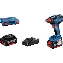 Aku rázový skrutkovač a uťahovák Bosch Professional GDX 18V-200 06019J2206, 18 V, 4.0 Ah, Li-Ion akumulátor