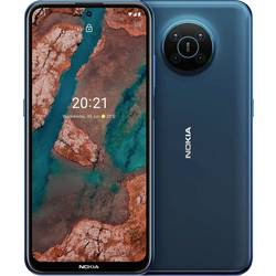 LTE smartfón Dual-SIM Nokia X20, 16.9 cm (6.67 palca, 128 GB, 64 Megapixel, 5 Megapixel, 2 Megapixel, 2 Megapixel, tmavomodrá
