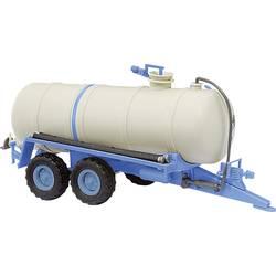 H0 model prívesu Busch 42867 Cisterna na tekutý hnoj HTS 100 modrá