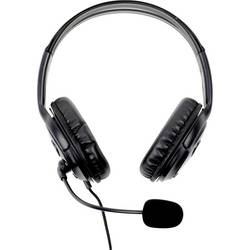 Headset k PC Innovation IT 7531595-IIT na ušiach s USB káblový, stereo čierna