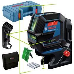 Krížový a bodový laser vr. tašky Bosch Professional GCL 2-50 G, Dosah (max.): 15 mm, Kalibrované podľa: bez certifikátu