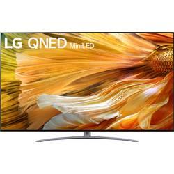 LG Electronics 86QNED919PA LED TV 217 cm 86 palca DVB-T2, DVB-C, DVB-S, UHD, Smart TV, WLAN, PVR ready, CI+ strieborná, antracitová
