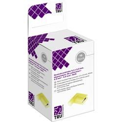 Krimpovacie sada TRU COMPONENTS T2010C367 4.8 mm x 0.5 mm, 90 °, úplne izolované, žltá, 10 ks