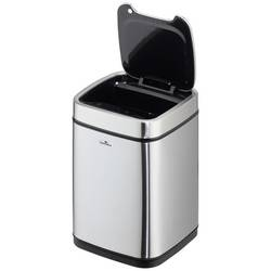 Odpadkový kôš otváranie veka one-touch Durable 342023, 6, strieborná