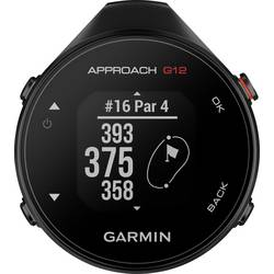Športové hodinky Garmin Approach G12, čierna