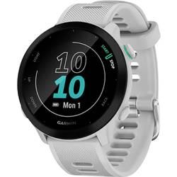 GPS hodinky pre bežcov Garmin Forerunner 55 GPS, EU, Whitestone, biela, čierna