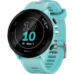 GPS hodinky pre bežcov Garmin Forerunner 55 GPS, EU, Aqua, tyrkysová, čierna