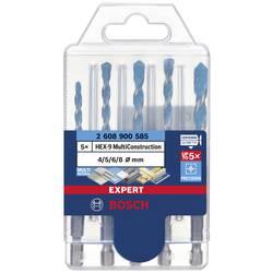 Bosch Accessories EXPERT MultiConstruction HEX-9 2608900585 sada viacúčelového vrtáka 5-dielna 4 mm, 5 mm, 6 mm, 8 mm šesťhranný záhlbník 5 ks