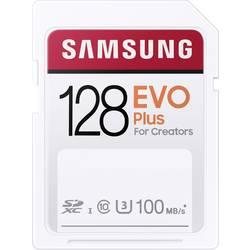 SDXC karta, 128 GB, Samsung EVO Plus, UHS-I, vodotesné, nárazuvzdorné