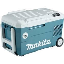 Chladiaci box a vykurovací box Makita 12 V/DC, 24 V/DC, 100 V/AC, 240 V/AC, 20 l, tyrkysová, biela