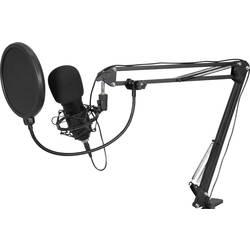 Image of Omnitronic BMS-1C Stand USB-Mikrofon Übertragungsart (Details):Kabelgebunden inkl Spinne, inkl. Kabel, inkl. Stativ