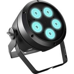 LED PAR svetlomet Cameo 5 4 W, čierna
