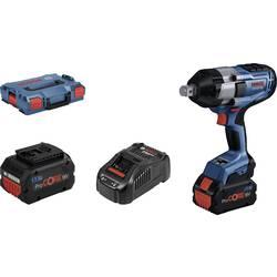 Aku rázový skrutkovač a uťahovák Bosch Professional GAL1880 L-Boxx 06019J8503, 18 V, 5.5 Ah, Li-Ion akumulátor